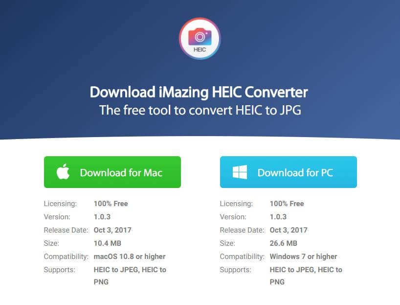 HEIC をJPGに変換する
