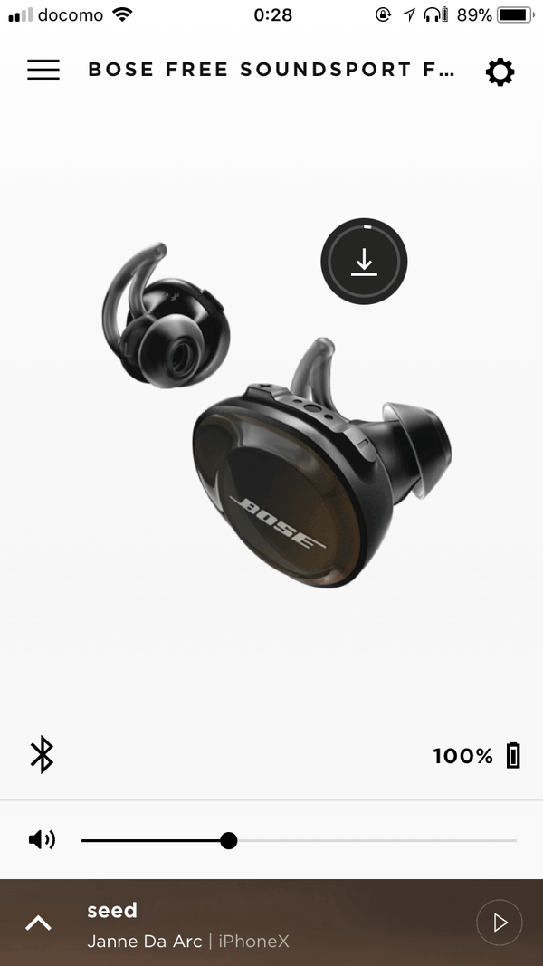SoundSport Free wireless  BOSE CONNECT
