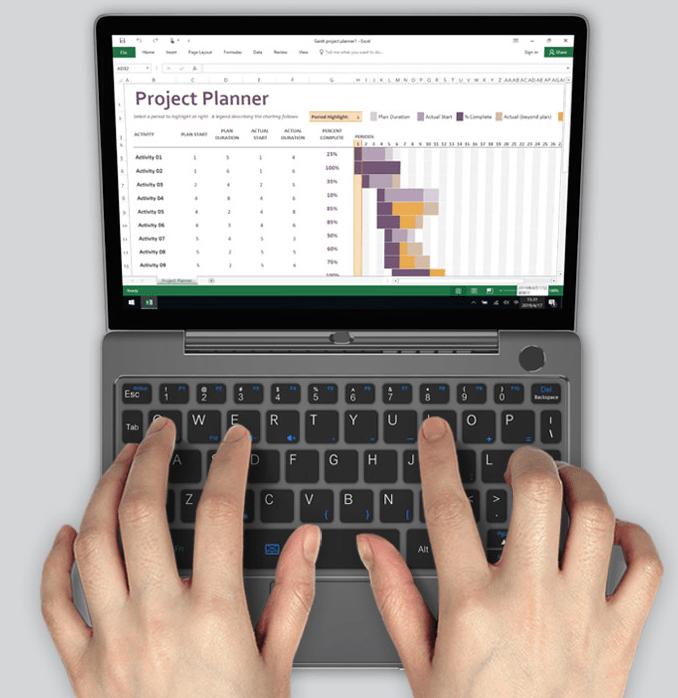 GPD Pocketで有名なGPDが世界最小のUltrabook、GPD P2 MaxのIndiegogo Previewページを公開